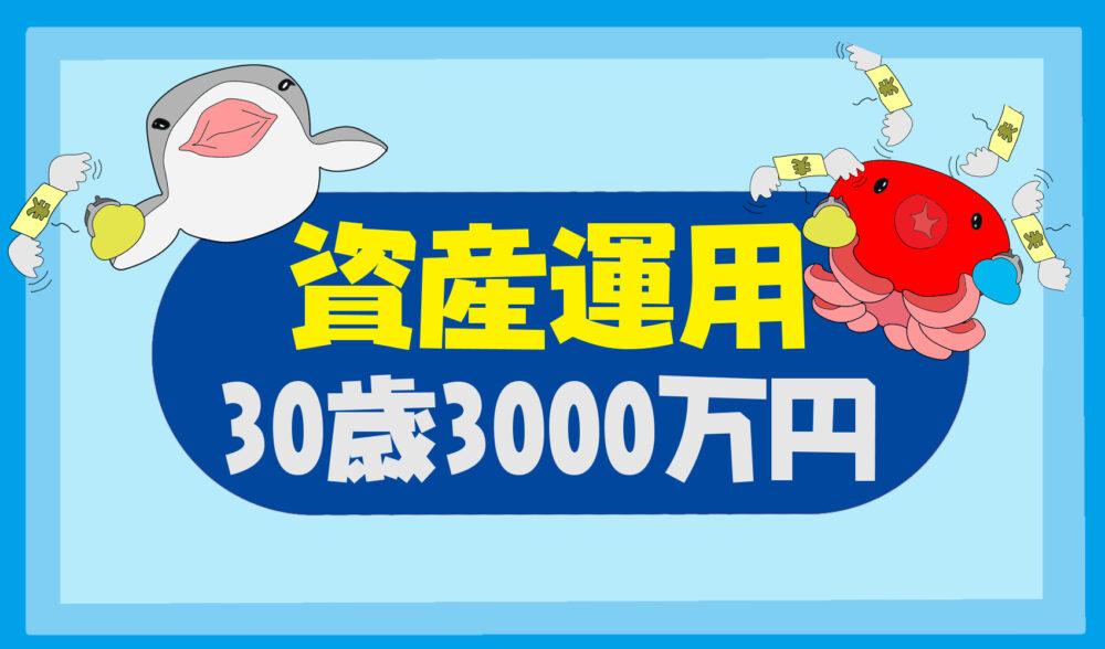 【30歳でアッパーマス層になる方法】3000万円貯めた資産運用とは?【投資ブログ】